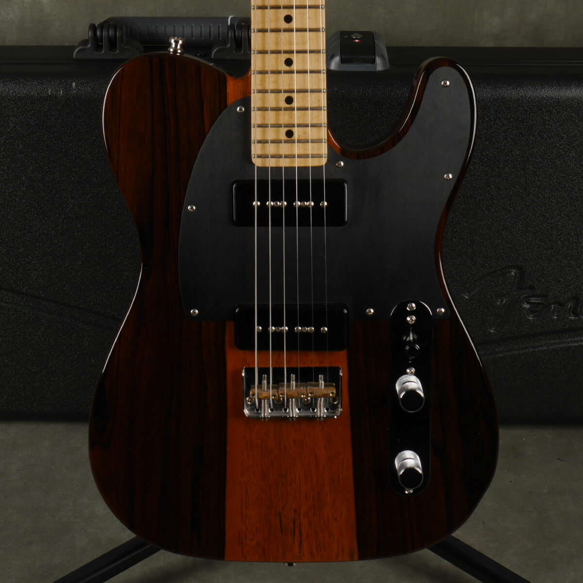 Fender Exotic Malaysian Blackwood American Telecaster 90 w/Hard Case - 2nd Hand