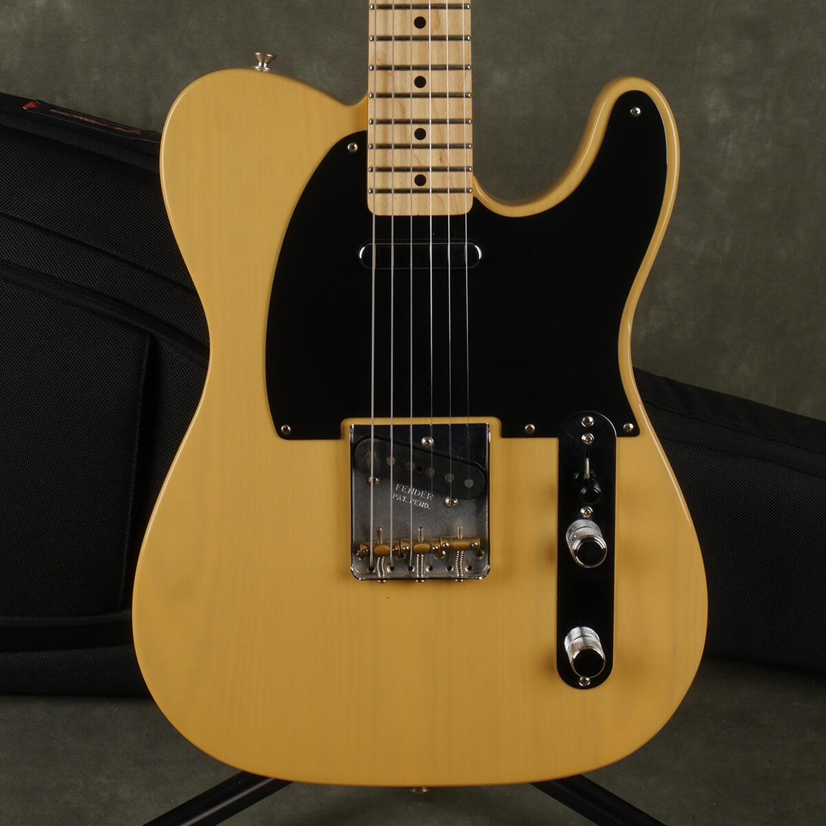 Fender Baja Telecaster - Butterscotch Blonde w/Gig Bag - 2nd Hand