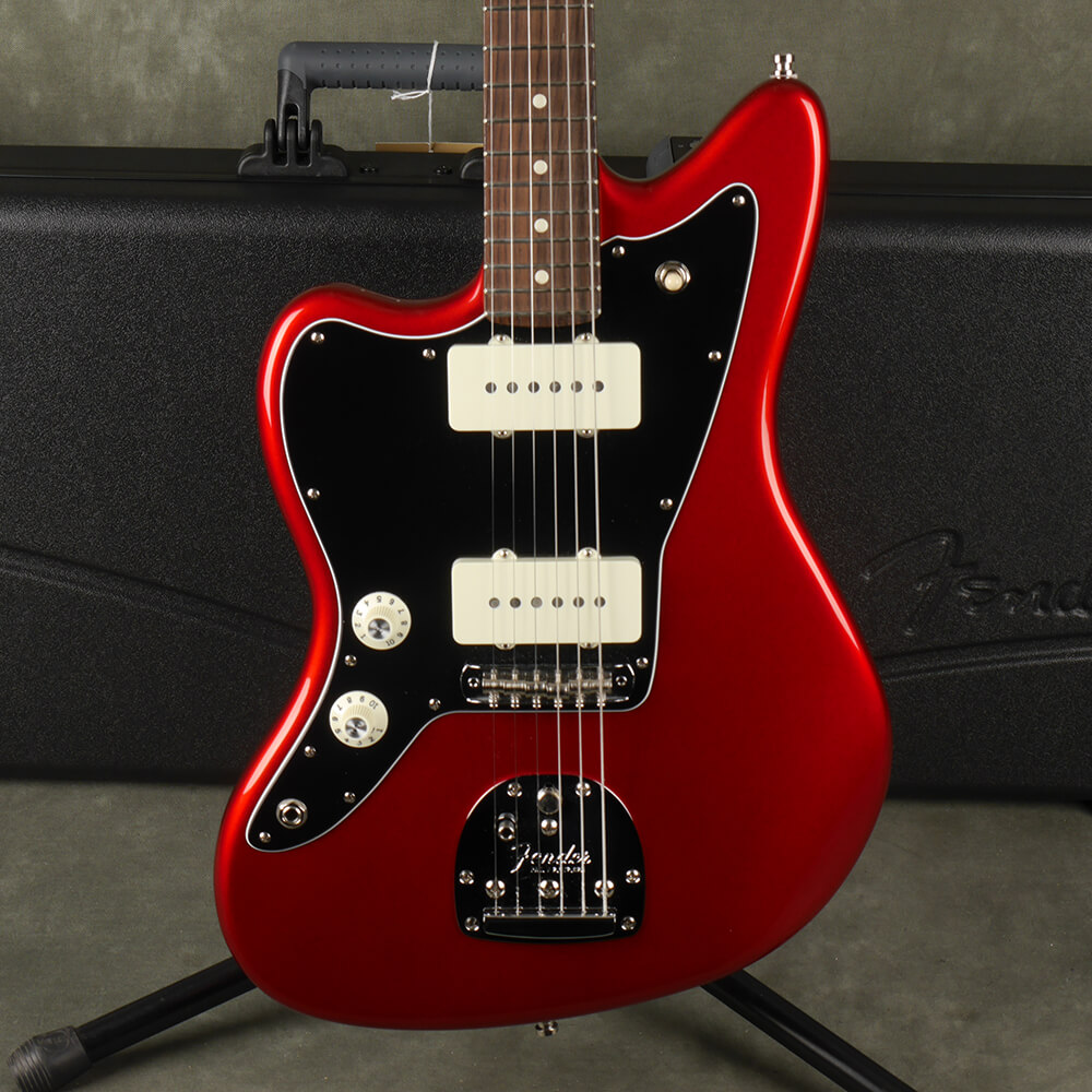 Fender American Professional Left Jazzmaster - Candy Apple Red w/Case - 2nd Hand