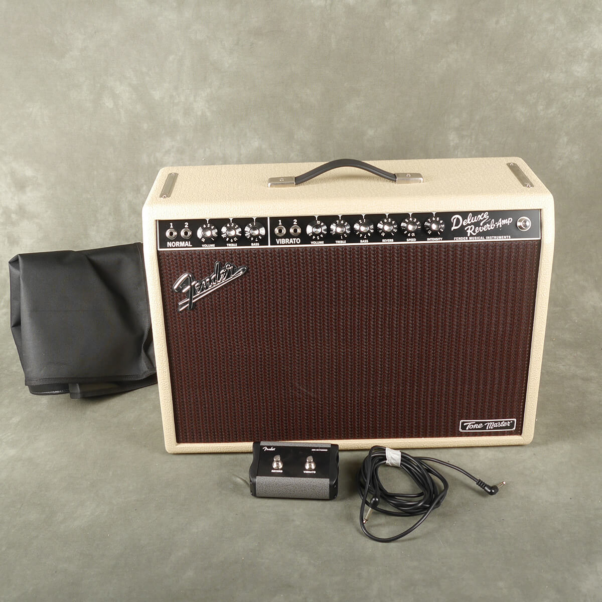 Fender Tone Master Deluxe Reverb - Blonde w/Cover - 2nd Hand