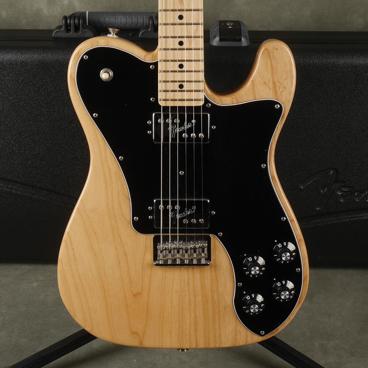 Fender American Pro Telecaster Custom - Natural w/Hard Case - 2nd Hand