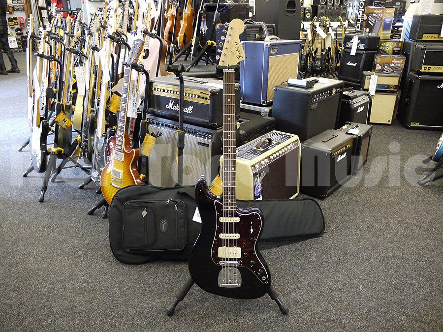 Fender pawn shop bass vi black 2nd hand rich tone music for 2nd hand beauty salon equipment