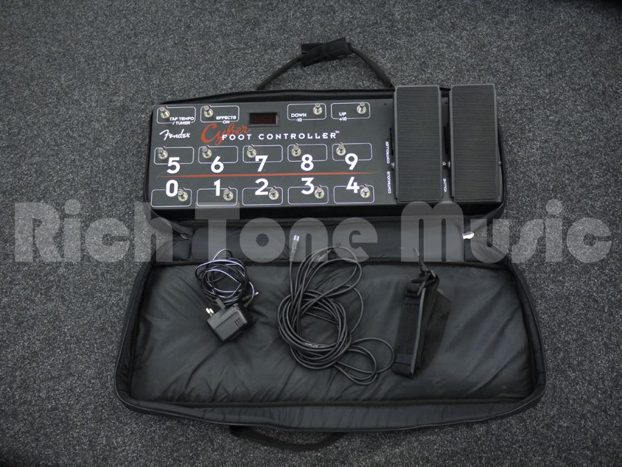 Fender Cyber Twin Foot Controller 2nd Hand Rich Tone Music