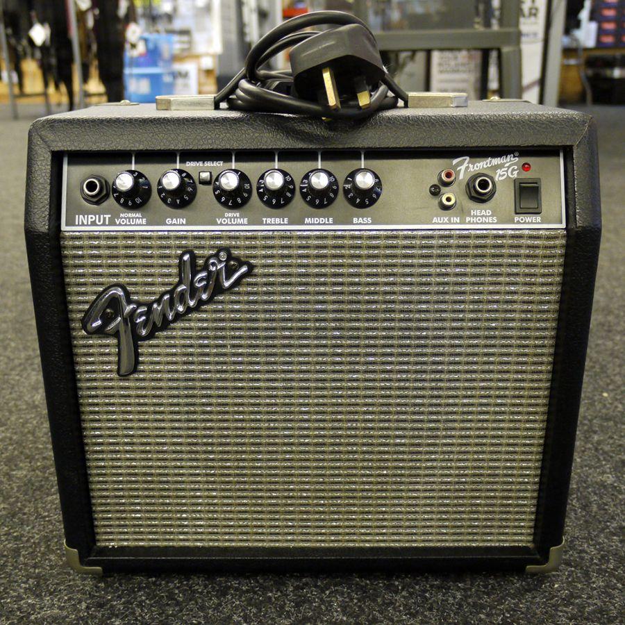 fender frontman 15g guitar amplifier 2nd hand rich tone music. Black Bedroom Furniture Sets. Home Design Ideas