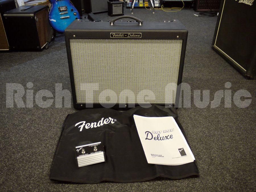 fender hot rod deluxe usa amp w soft case manual 2nd hand rh richtonemusic co uk fender hot rod deluxe amplifier review fender hot rod deluxe 3 user manual