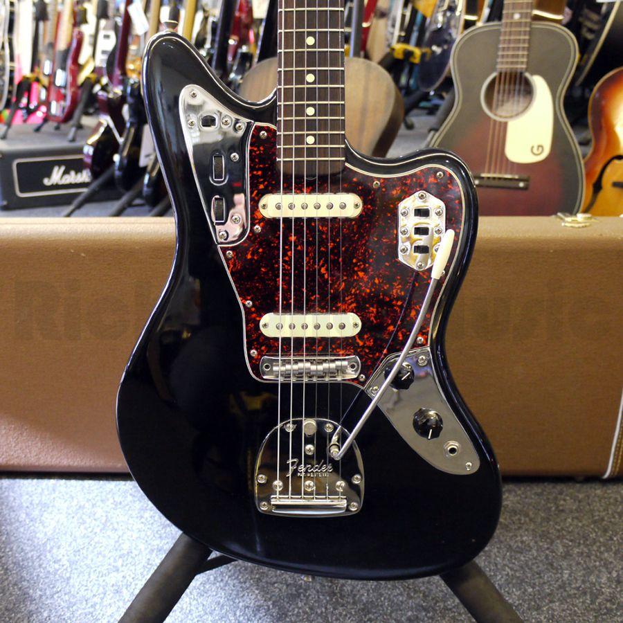 Fender American Vintage Jaguar - Black w/ Hard Case - 2nd Hand