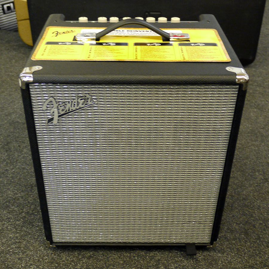 fender rumble 100 v3 bass combo amplifier 2nd hand rich tone music. Black Bedroom Furniture Sets. Home Design Ideas