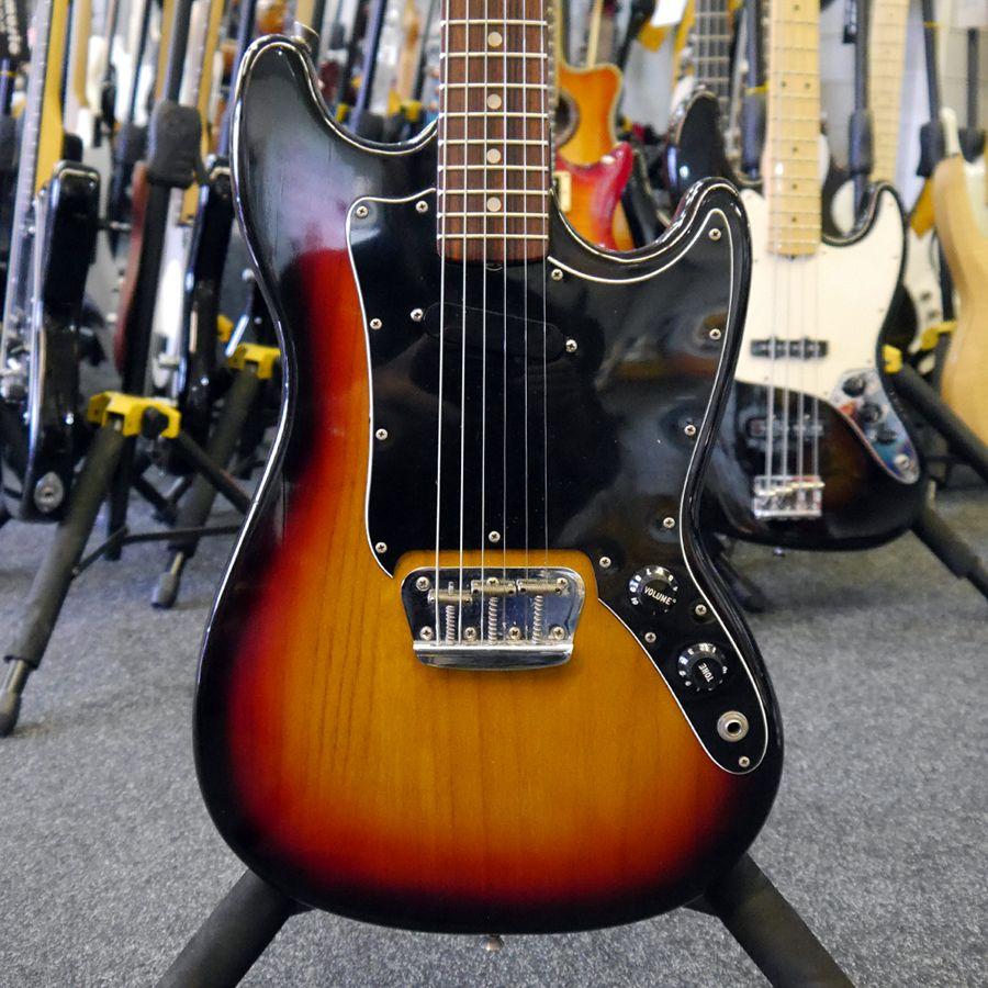 Fender Musicmaster 1979 - Sunburst - 2nd Hand