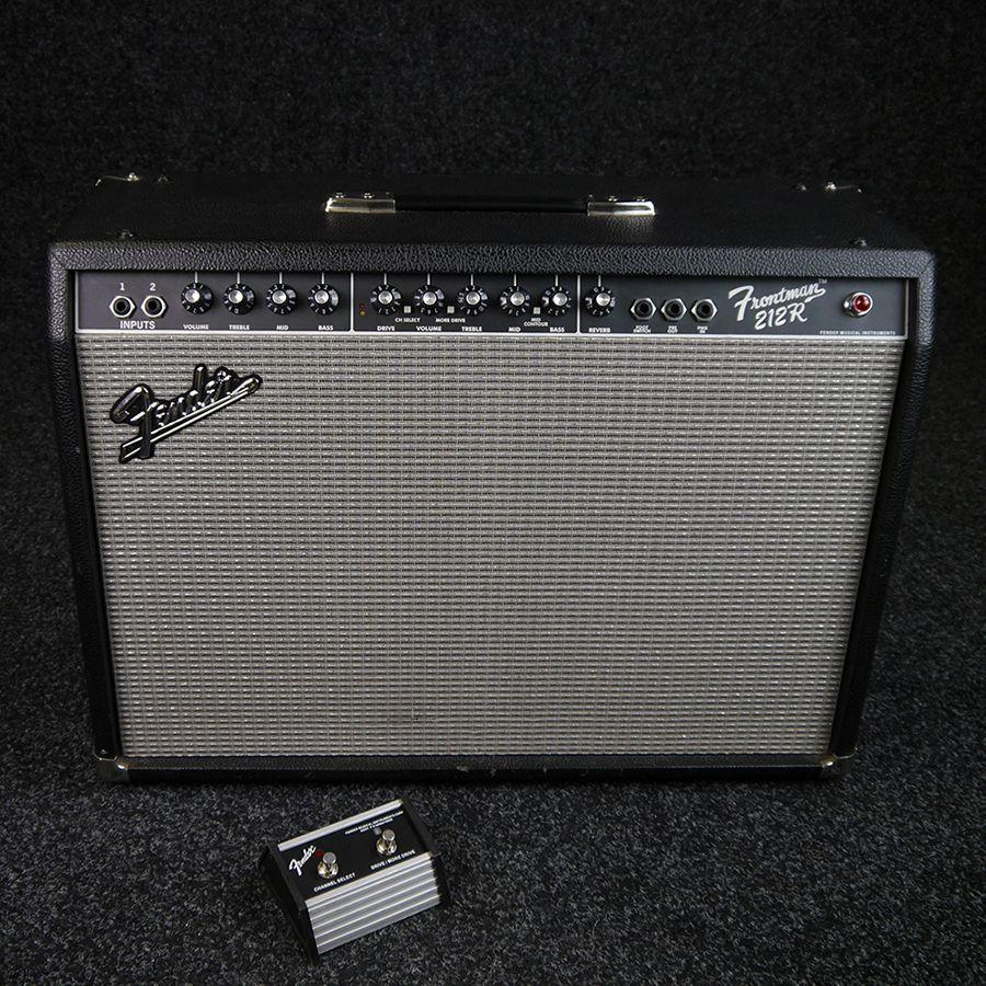 fender 212r frontman guitar combo amplifier 2nd hand rich tone music. Black Bedroom Furniture Sets. Home Design Ideas