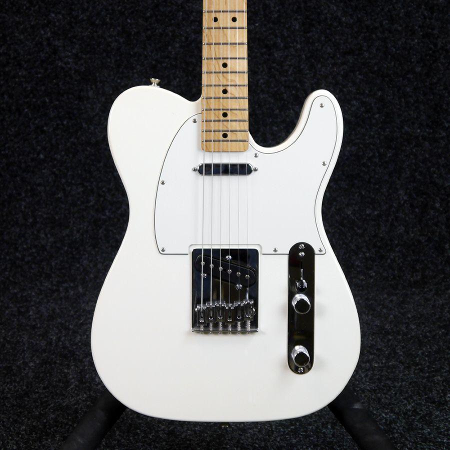 fender standard telecaster arctic white 2nd hand rich tone music. Black Bedroom Furniture Sets. Home Design Ideas