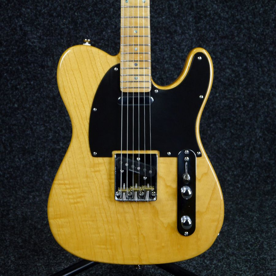 fender lite ash telecaster 2nd hand rich tone music. Black Bedroom Furniture Sets. Home Design Ideas