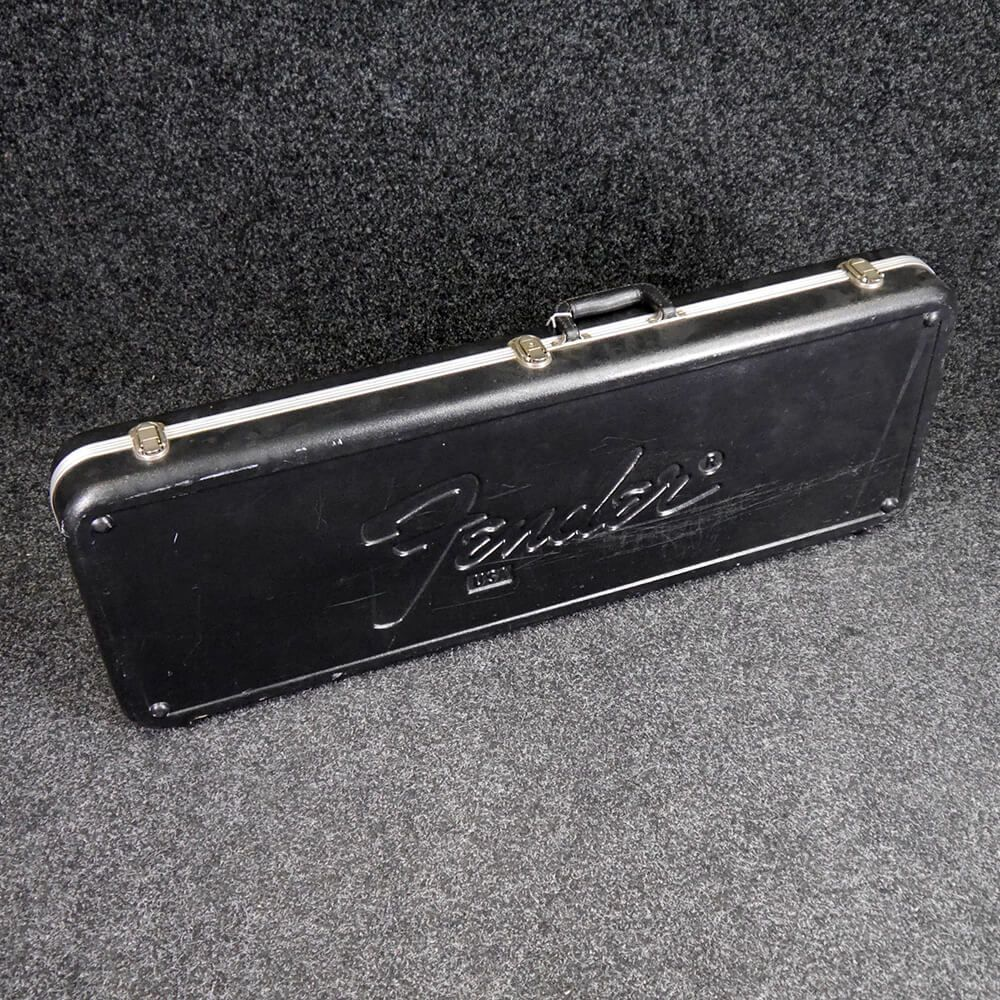 fender 1970s hard case for strat tele guitar 2nd hand rich tone music. Black Bedroom Furniture Sets. Home Design Ideas