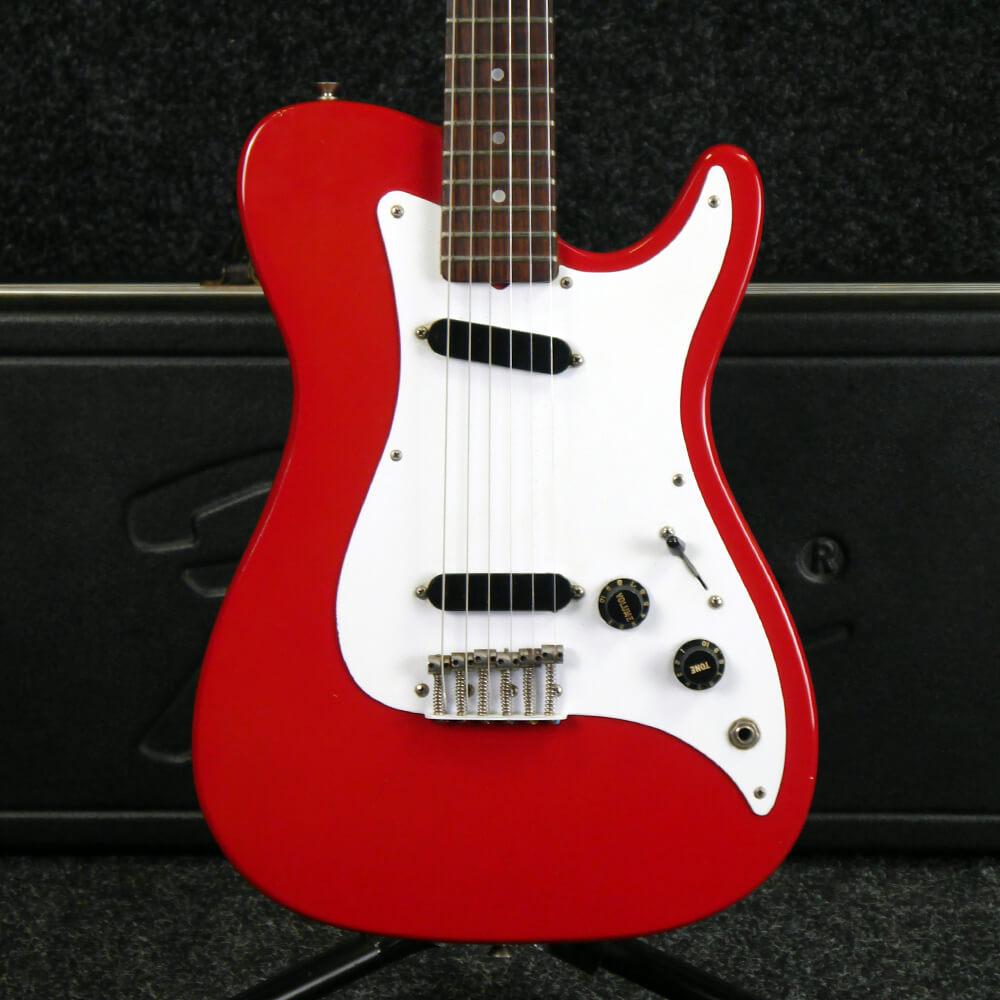 Fender Bullet, 1980 - Red w/Hard Case - 2nd Hand