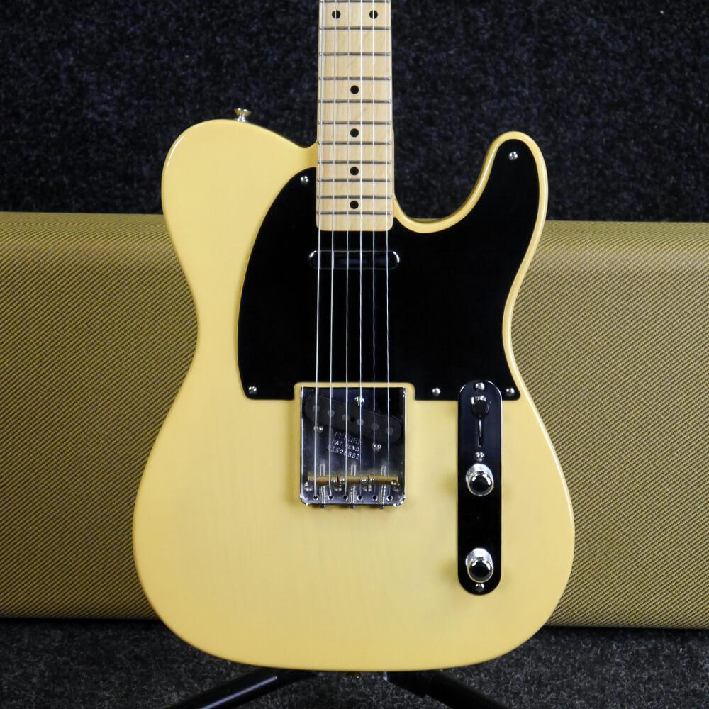 fender american vintage 52 telecaster blonde w hard case 2nd hand rich tone music. Black Bedroom Furniture Sets. Home Design Ideas