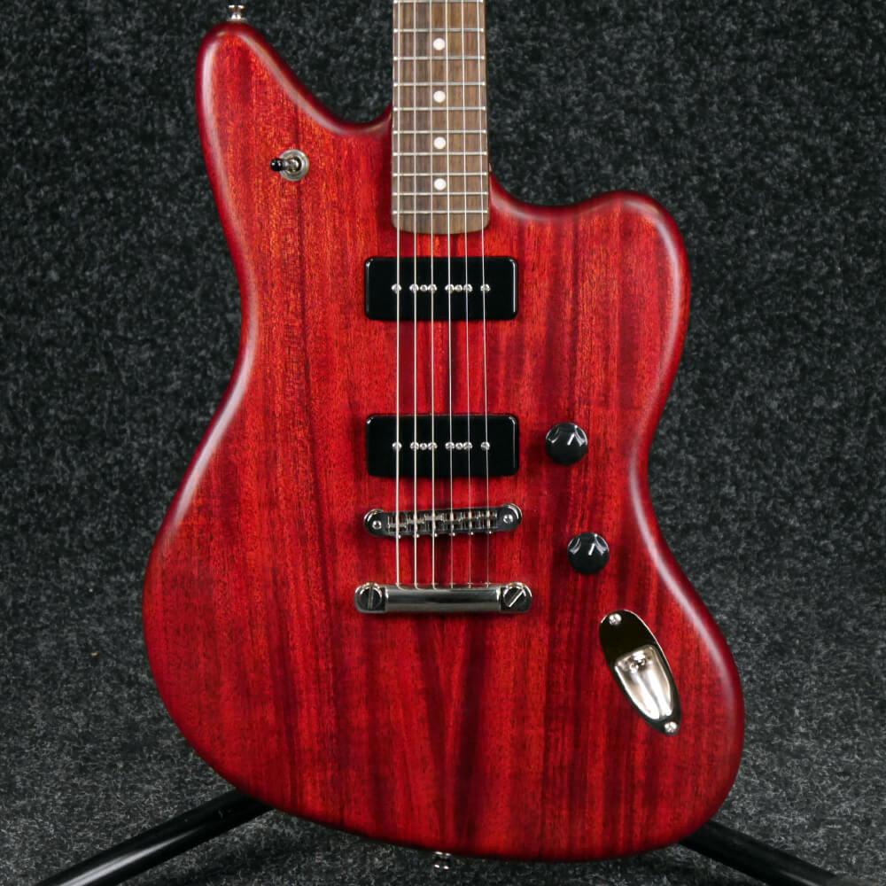 Fender Modern Player Jaguar - Cherry Red - 2nd Hand