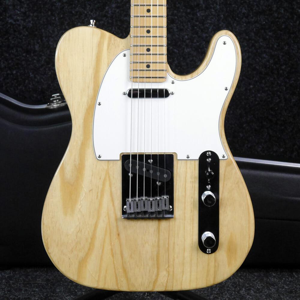Fender American Ash Telecaster - Natural w/Hard Case - 2nd Hand