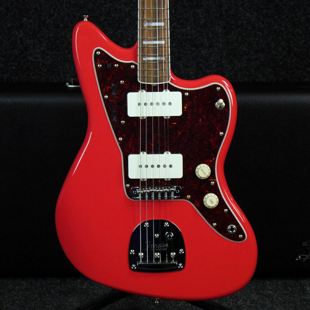 Fender Jazzmaster 60th Anniversary - Fiesta Red w/Hard Case - 2nd Hand