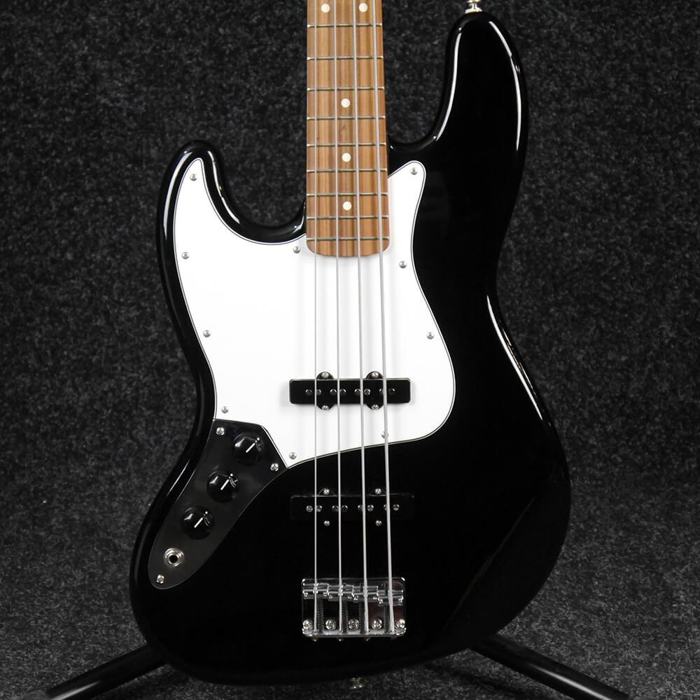 fender standard jazz bass left handed black 2nd hand rich tone music. Black Bedroom Furniture Sets. Home Design Ideas