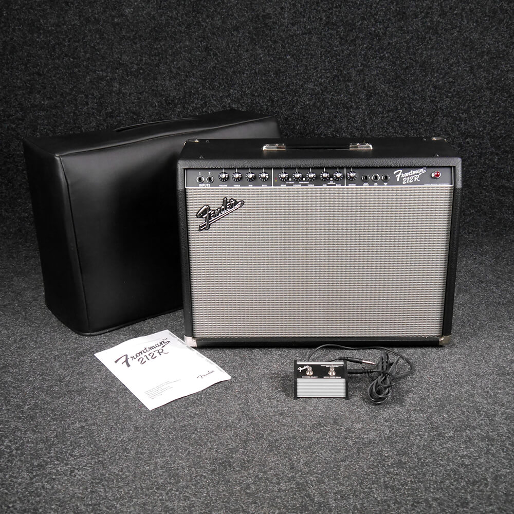 fender frontman 212r combo amplifier w cover 2nd hand rich tone music. Black Bedroom Furniture Sets. Home Design Ideas