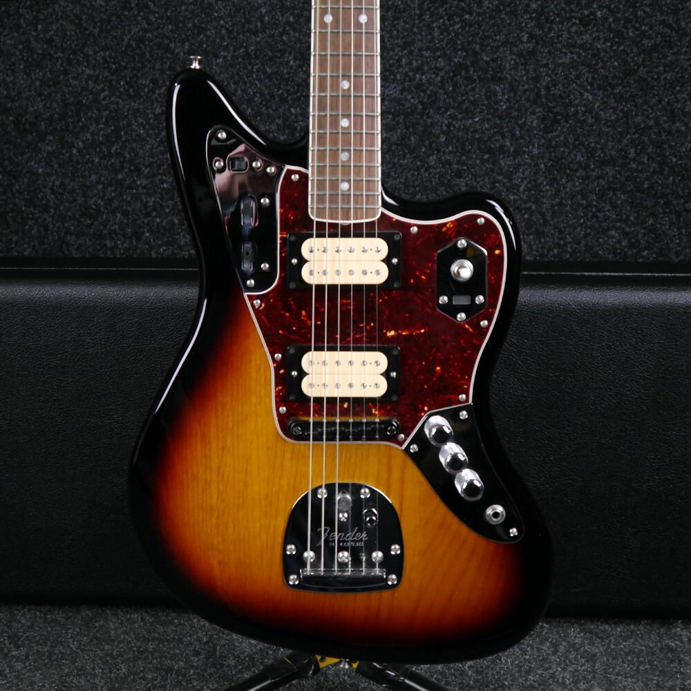 Fender Artsist Series Kurt Cobain Jaguar - Sunburst w/Hard Case - 2nd Hand
