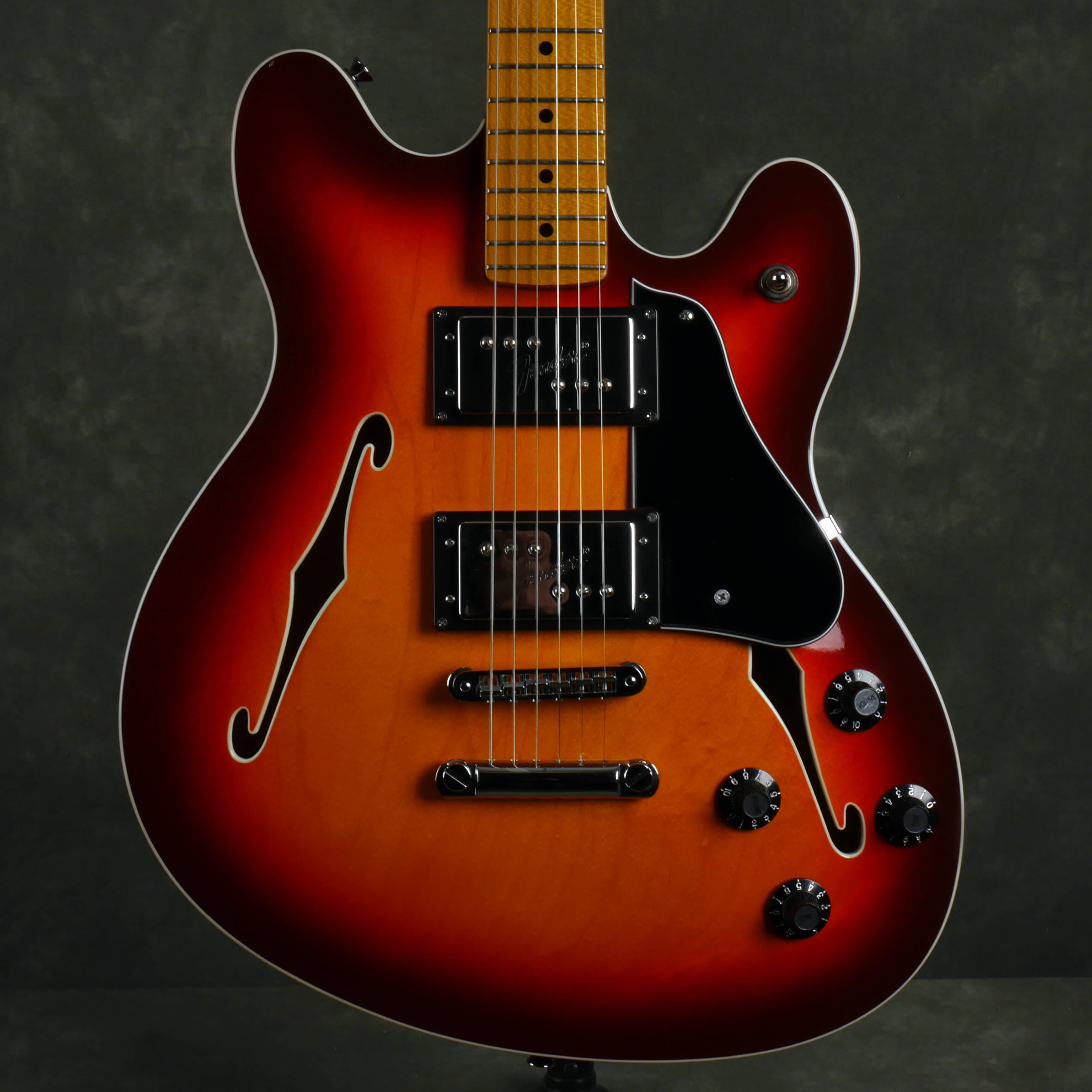 Fender Starcaster Electric Guitar - Sunburst - 2nd Hand