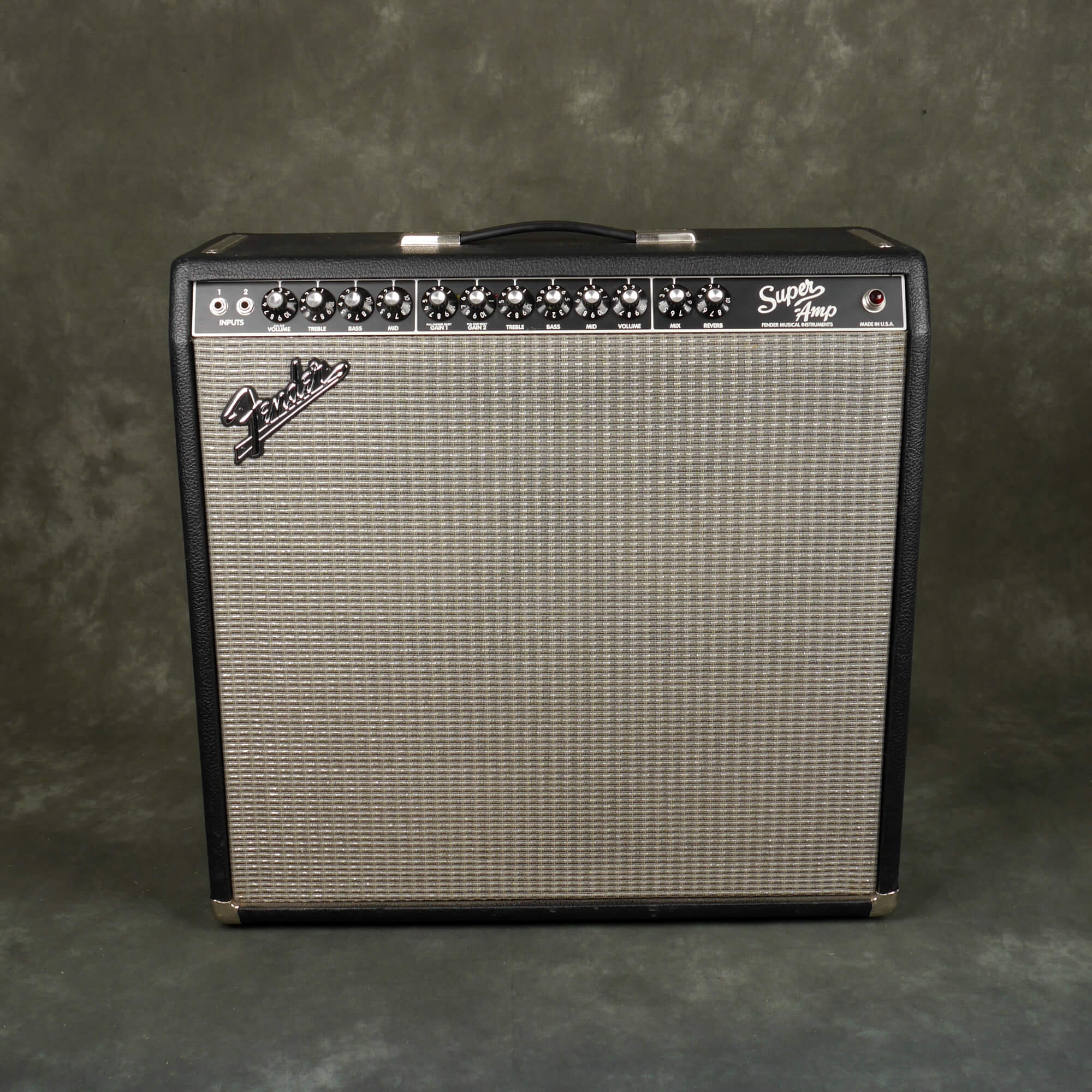 Fender Super Amp 4x10 Combo Amplifier - 2nd Hand **COLLECTION ONLY**