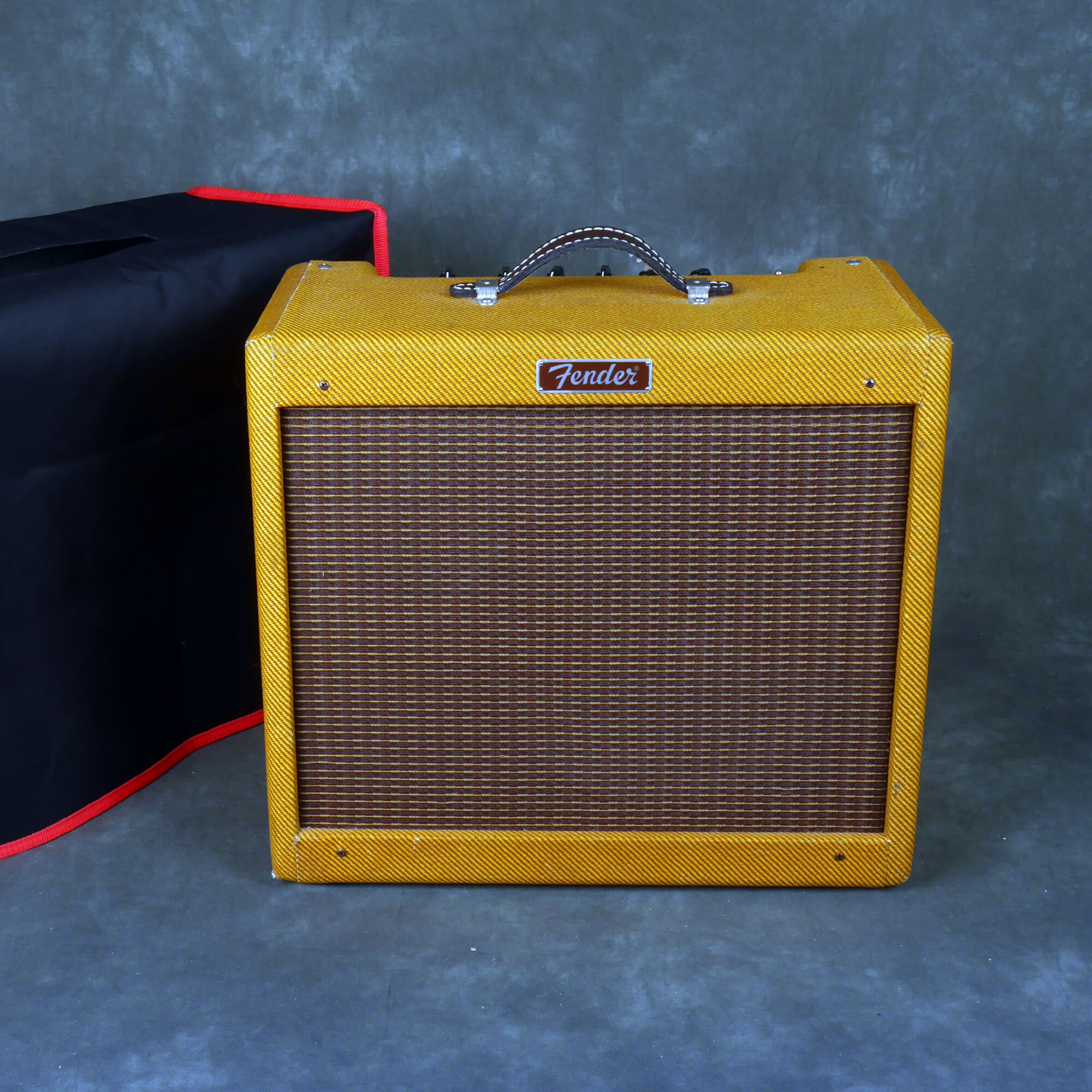 Fender Blues Junior Combo Amp - Tweed w/Cover - 2nd Hand **COLLECTION ONLY**