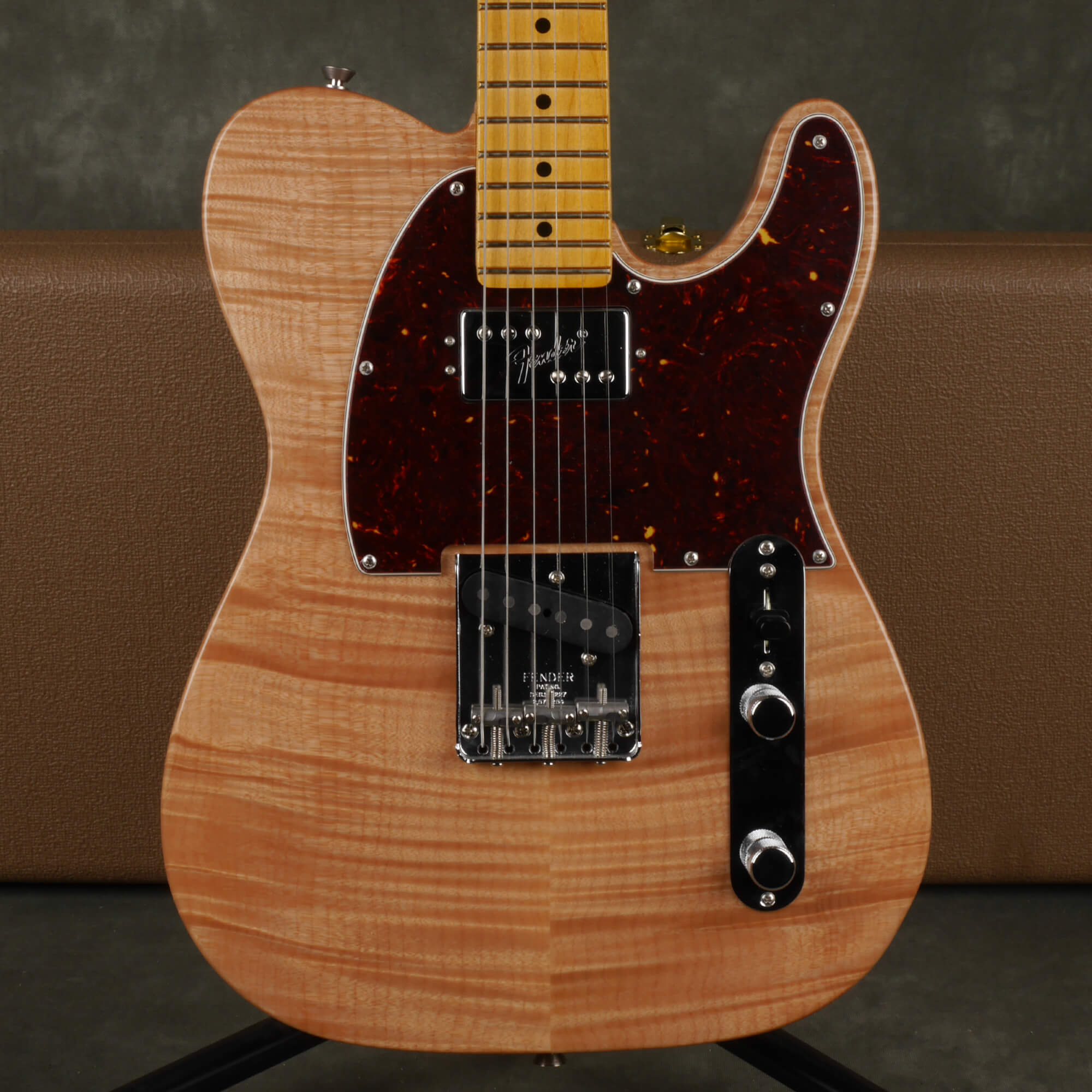 Fender Rarities Chambered Telecaster - Flame Maple Natural w/Case - 2nd Hand