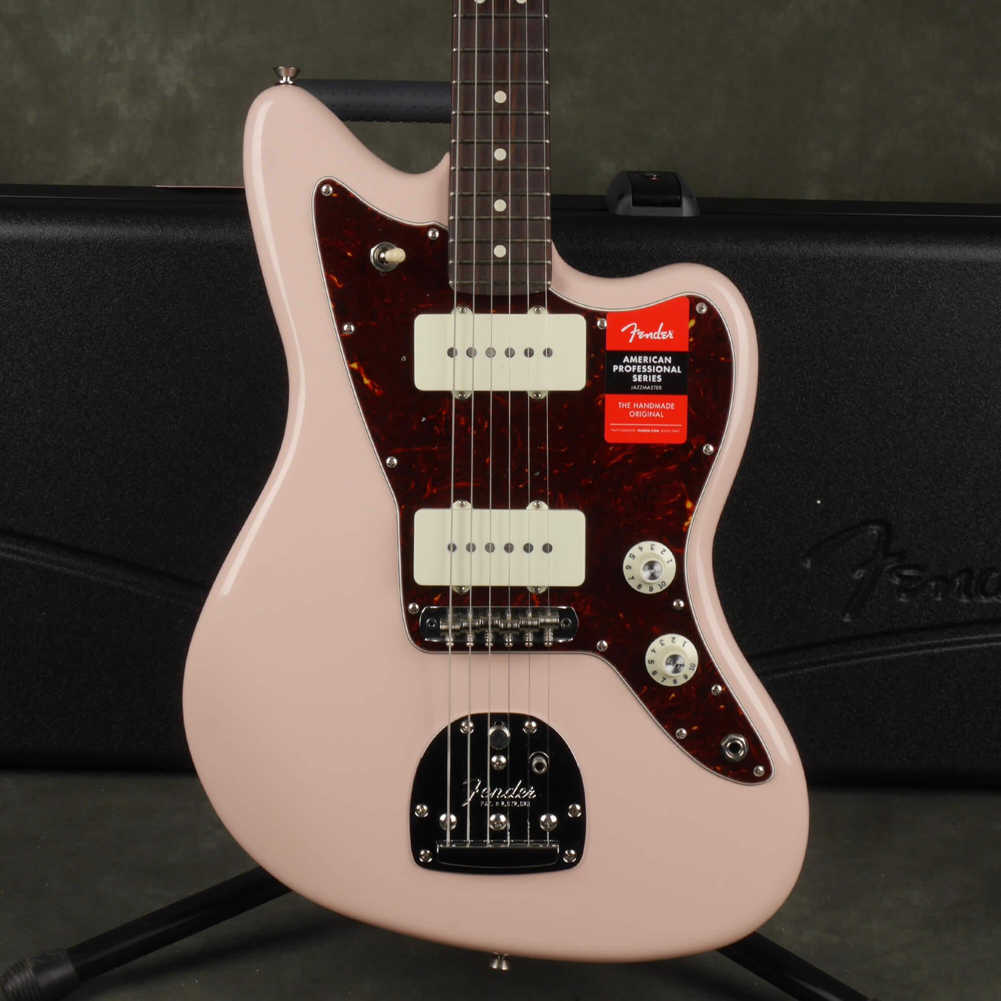 Fender American Pro Jazzmaster, Rosewood Neck - Shell Pink w/Case - 2nd Hand
