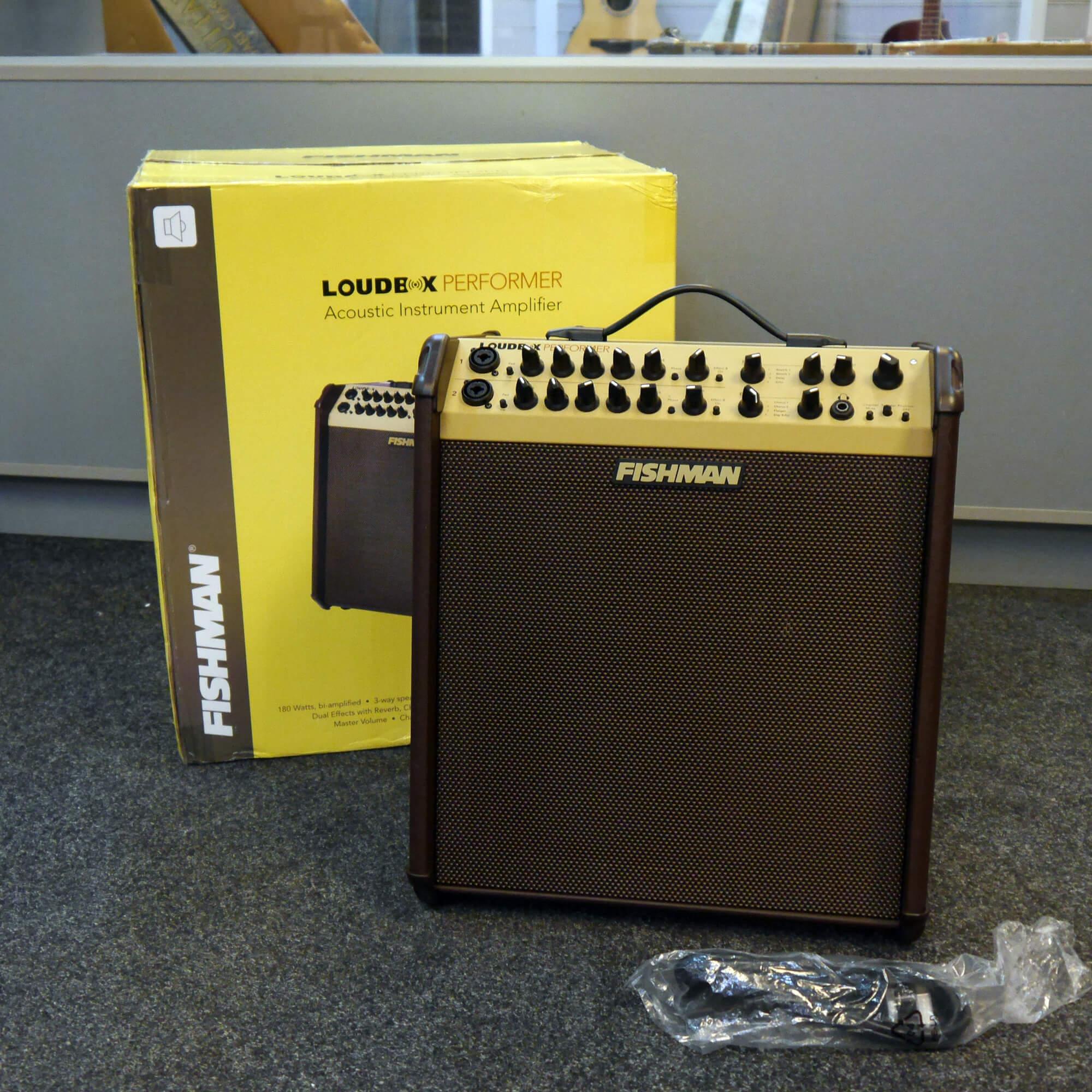 Fishman Loudbox Performer Acoustic Guitar Amplifier w/Box & PSU - 2nd Hand
