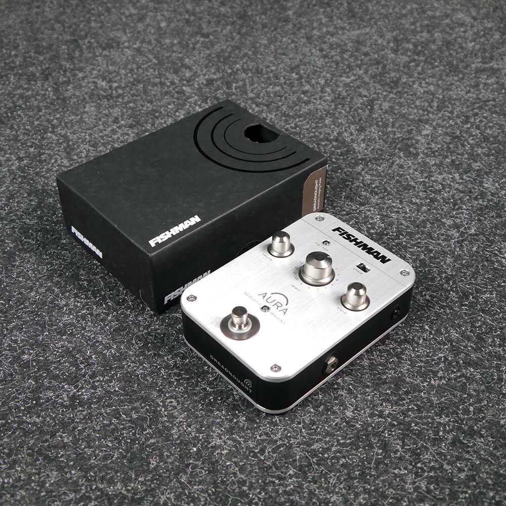 Fishman Aura Spectrum DI and Acoustic Guitar Preamp w/Box - 2nd Hand