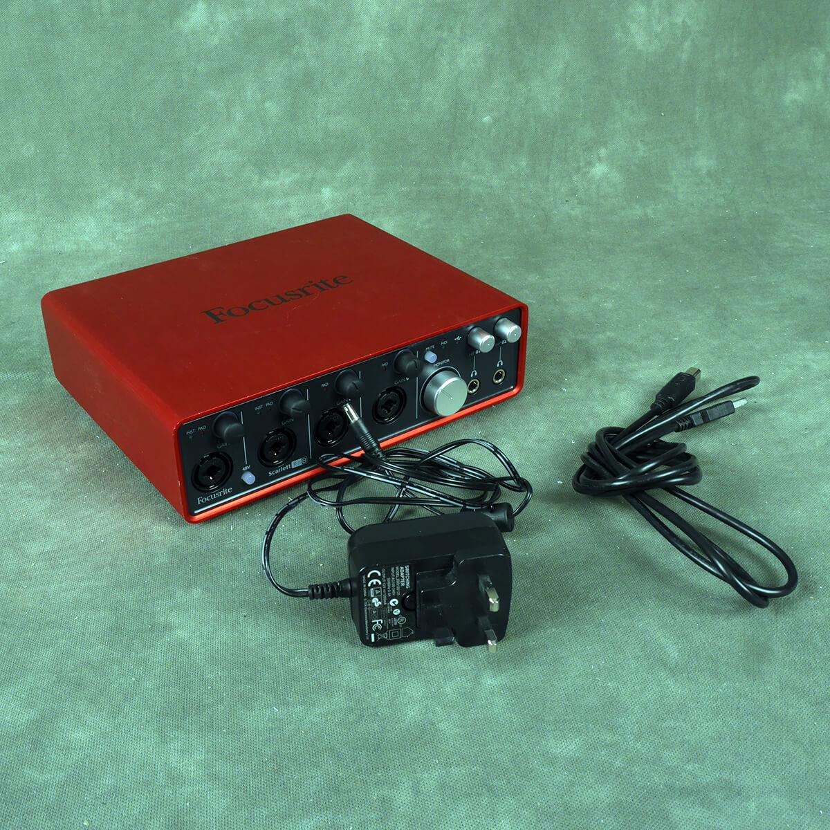 Focusrite Scarlett 18i8 2nd Gen Audio Interface - 2nd Hand
