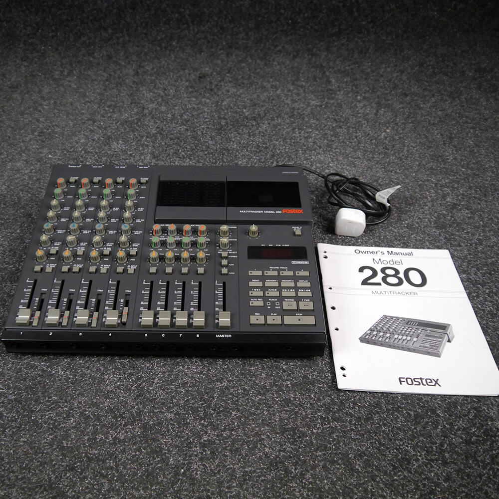 Fostex 280 4-Track Tape Recorder - 2nd Hand