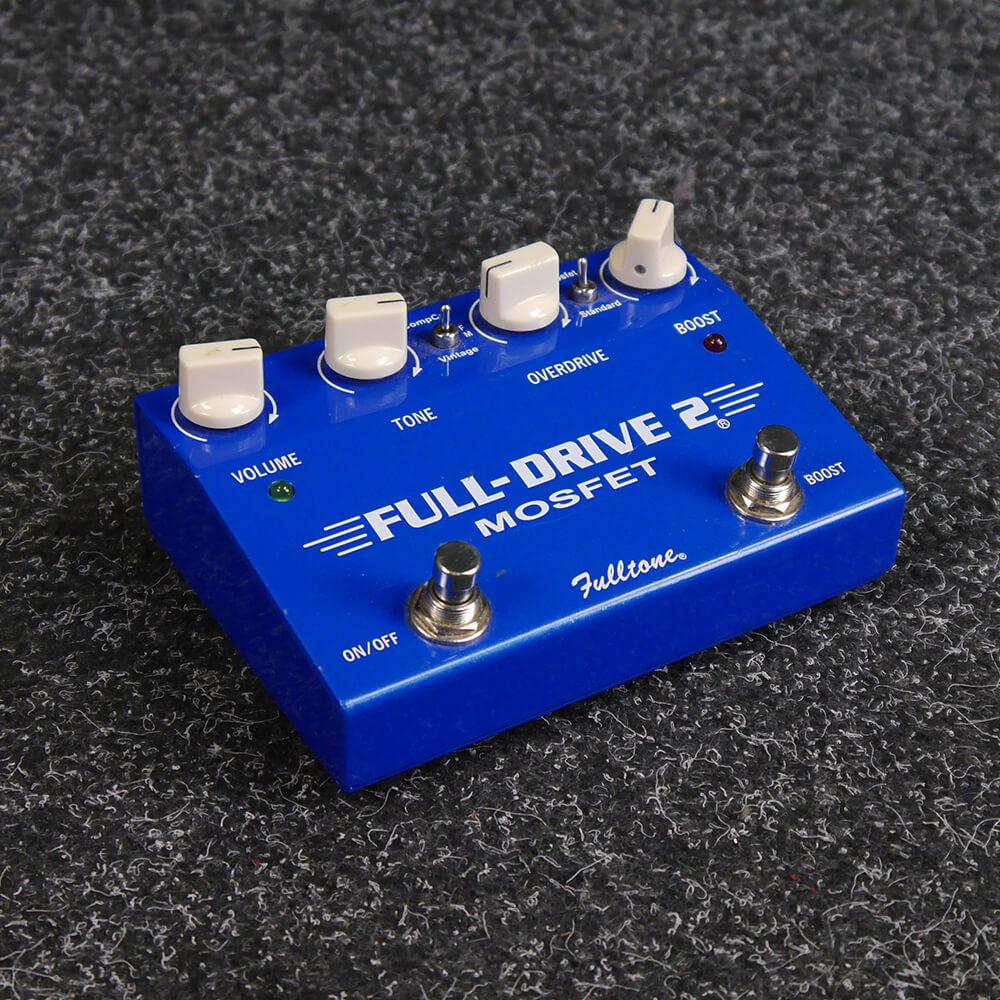 Fulltone Full-Drive 2 Mosfet Guitar FX Pedal - 2nd Hand