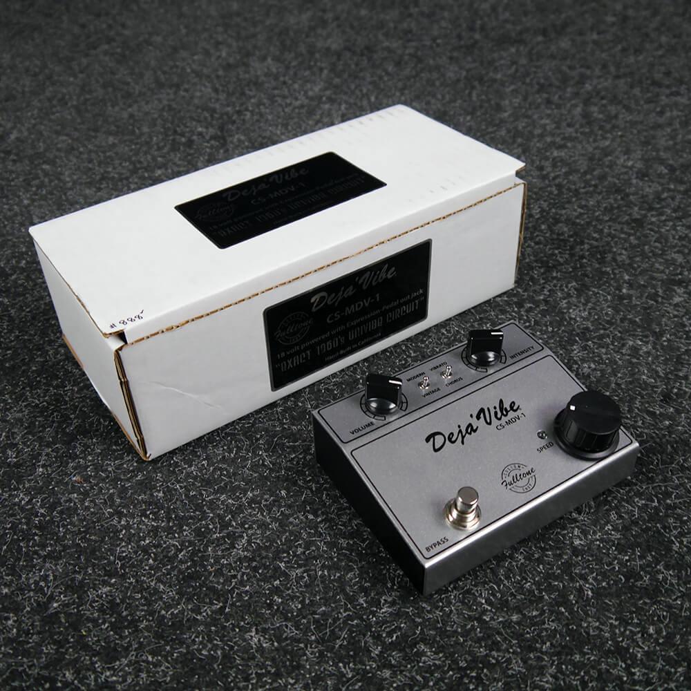 Fulltone Deja Vibe CS-MDV-1 Vibe FX Pedal w/Box - 2nd Hand