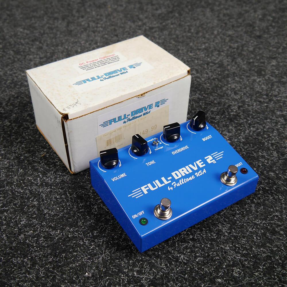 Fulltone Full Drive 2 FX Pedal w/Box - 2nd Hand