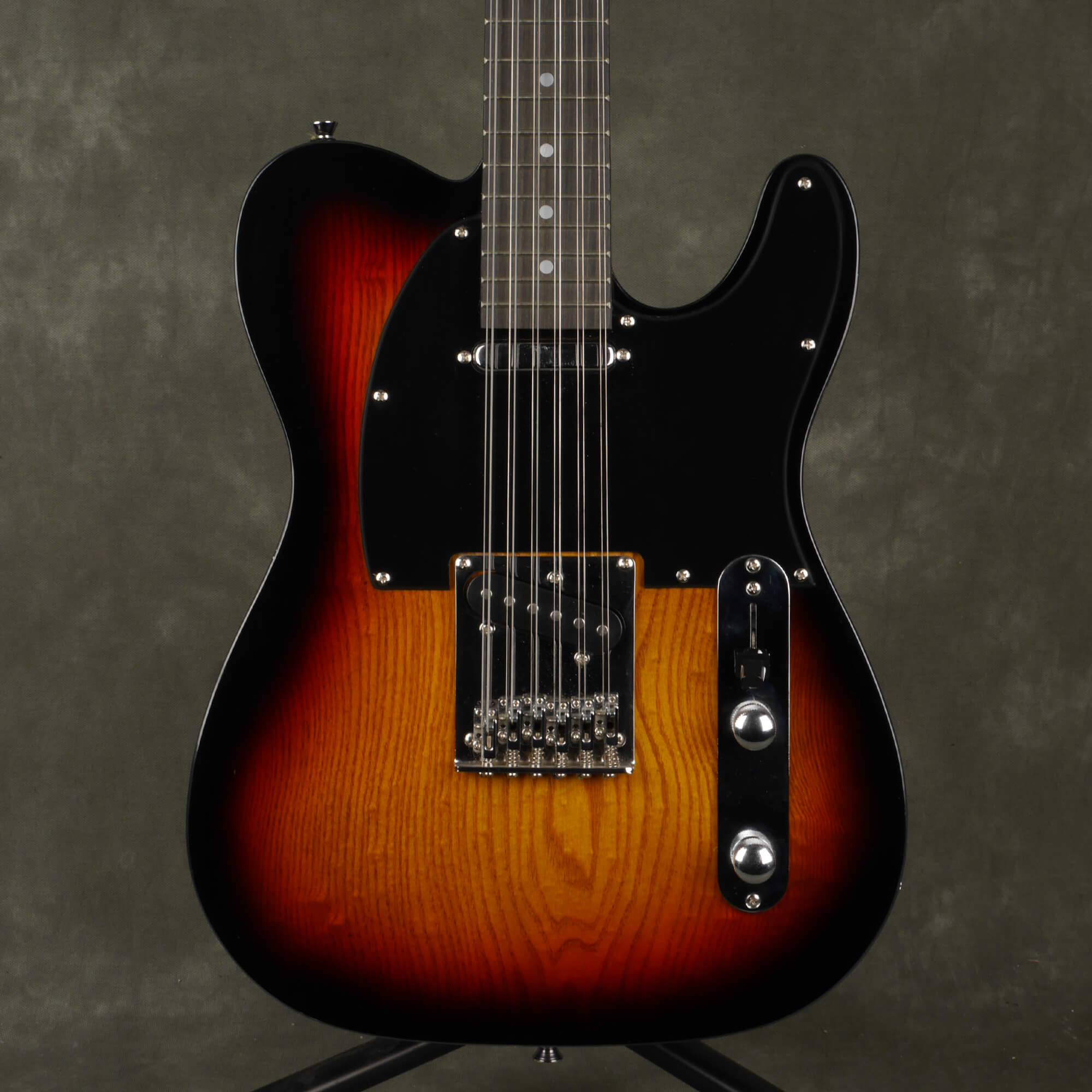 G4M Knoxville Deluxe 12-String Electric Guitar - Sunburst - 2nd Hand