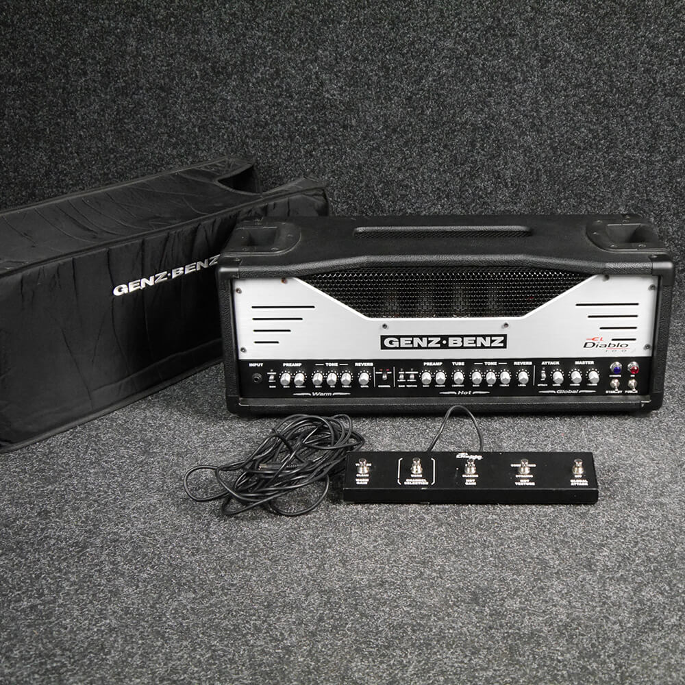 Genz Benz Amplifiers Rich Tone Music