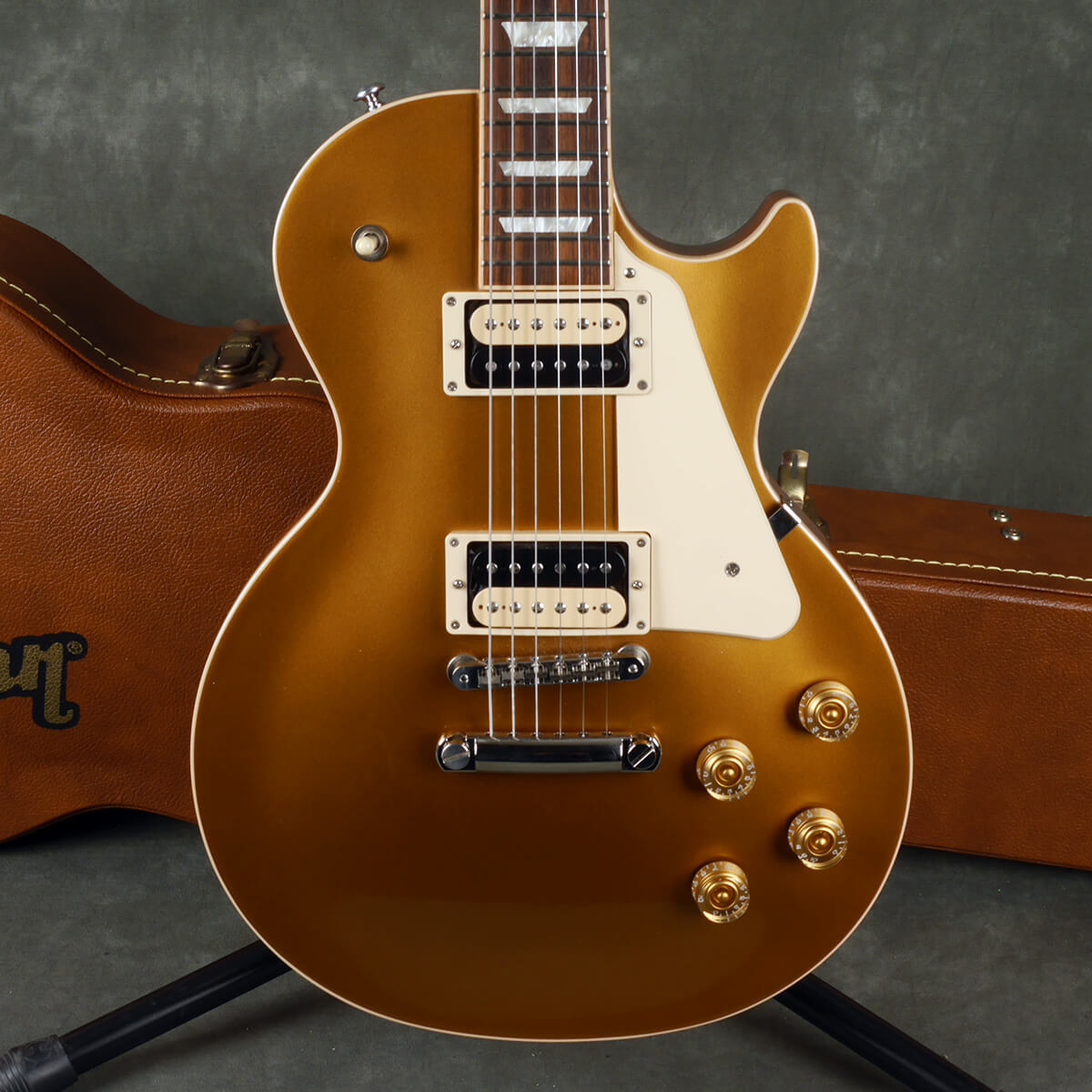 Gibson 2017 Les Paul Classic - Gold Top w/Hard Case - 2nd Hand