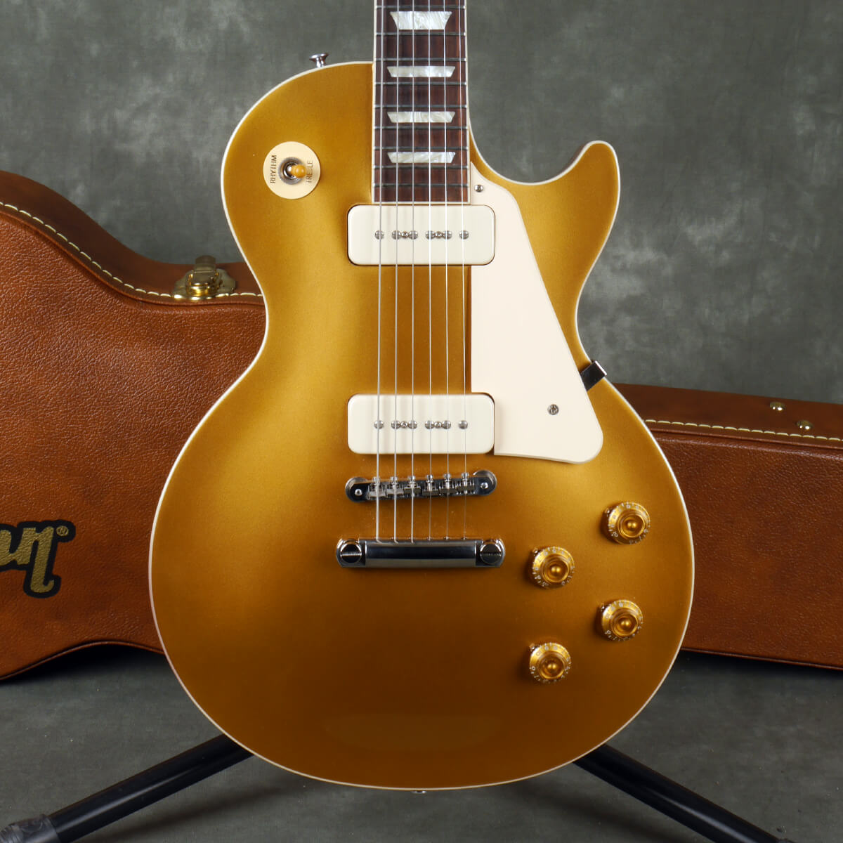 Gibson Les Paul Standard 50s P90 - Gold Top w/Hard Case - 2nd Hand