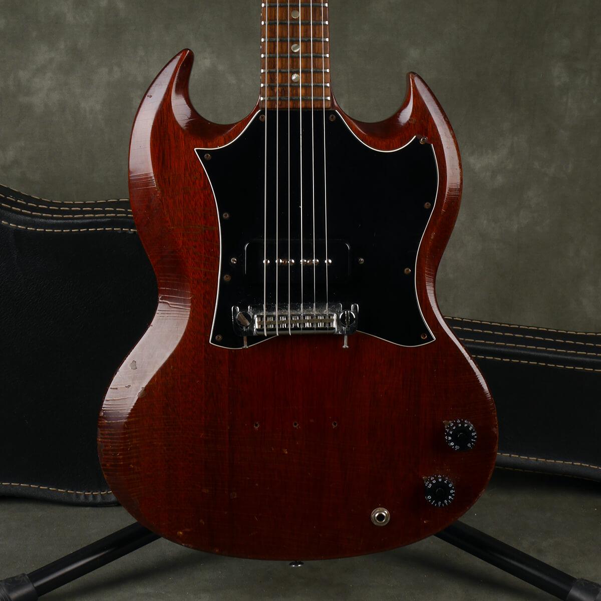 Gibson Original 1967 SG Jr. - Cherry w/Hard Case - 2nd Hand