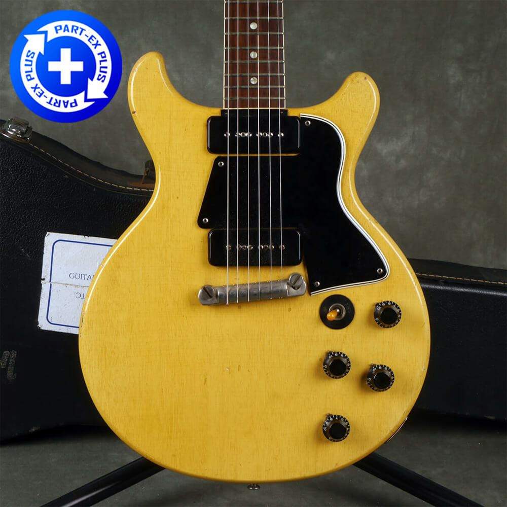 Gibson Original 1959 LP DC Special TV Yellow-Case**COLLECTION ONLY** 2nd hand