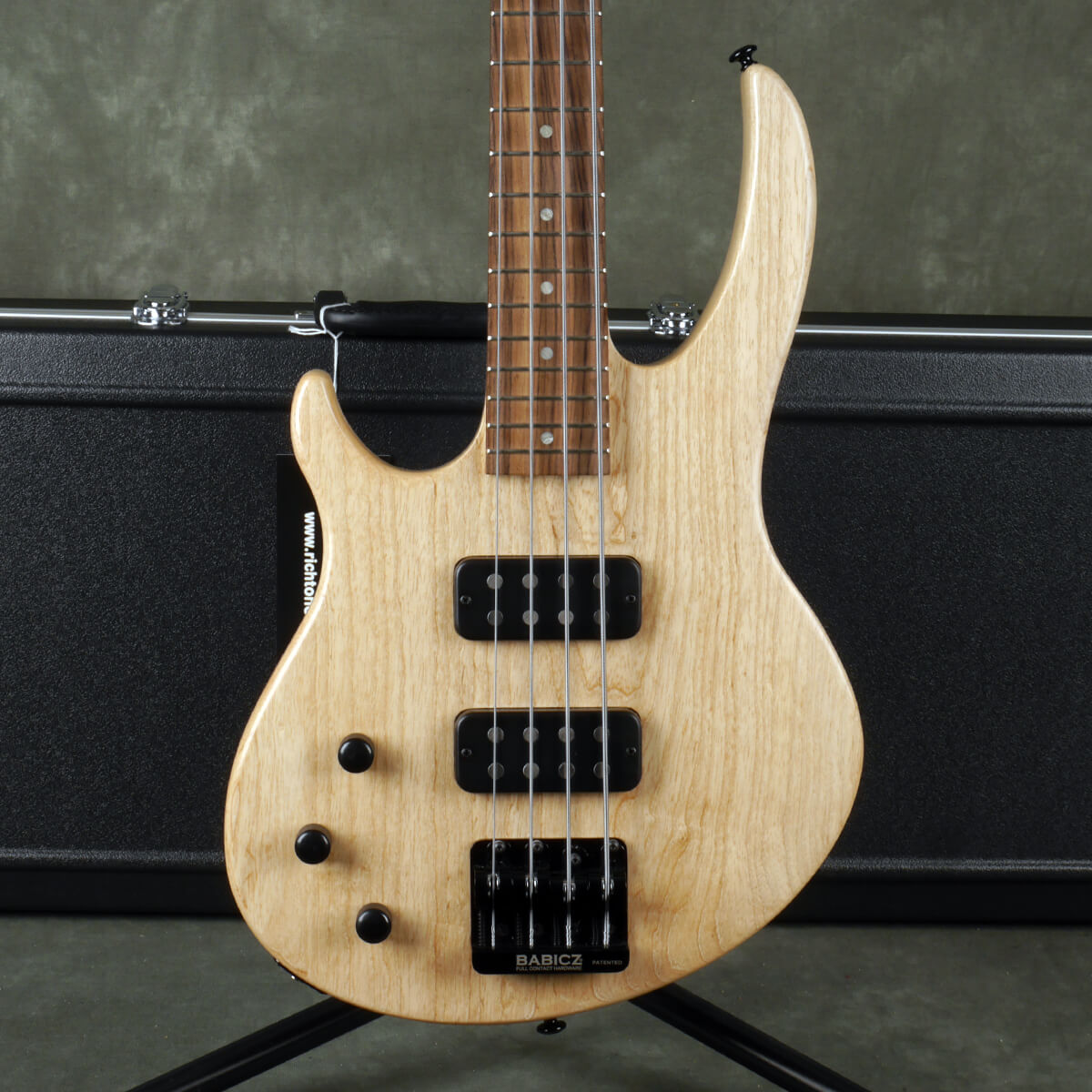 Gibson EB-4 Bass - Left Handed - Natural w/Hard Case - 2nd Hand