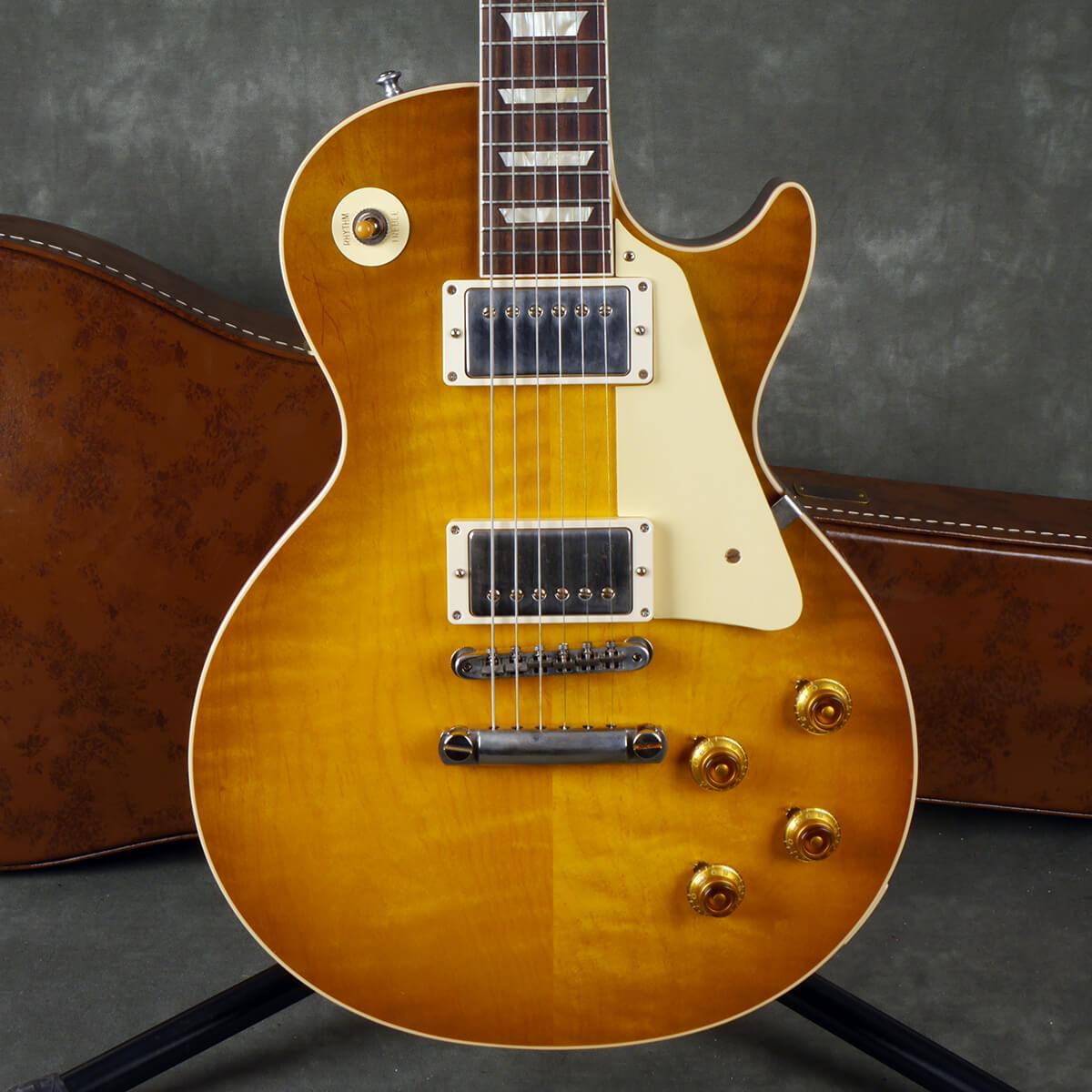 Gibson Custom Shop 1958 Les Paul Reissue - Lemon Burst w/Hard Case - 2nd Hand