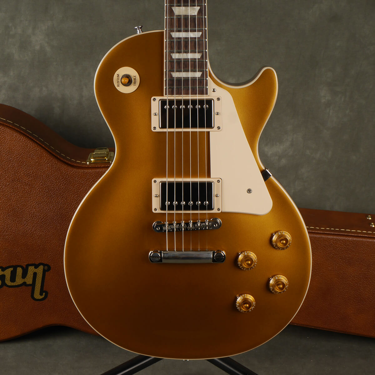 Gibson Les Paul Standard '50s - Gold Top w/Hard Case - 2nd Hand