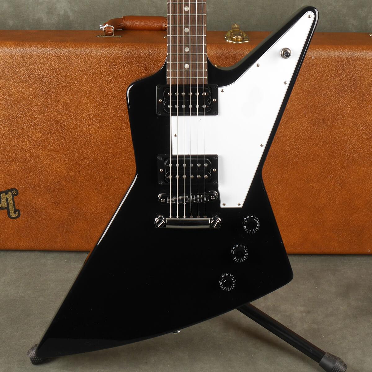 Gibson Explorer - Ebony w/Hard Case - 2nd Hand