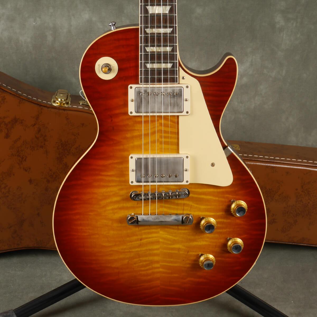Gibson Custom Shop Les Paul 1960 VOS - Tomato Burst w/Hard Case - 2nd Hand