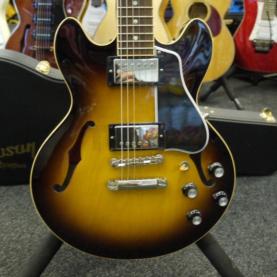 gibson es339 custom shop electric guitar case 2nd hand rich tone music. Black Bedroom Furniture Sets. Home Design Ideas