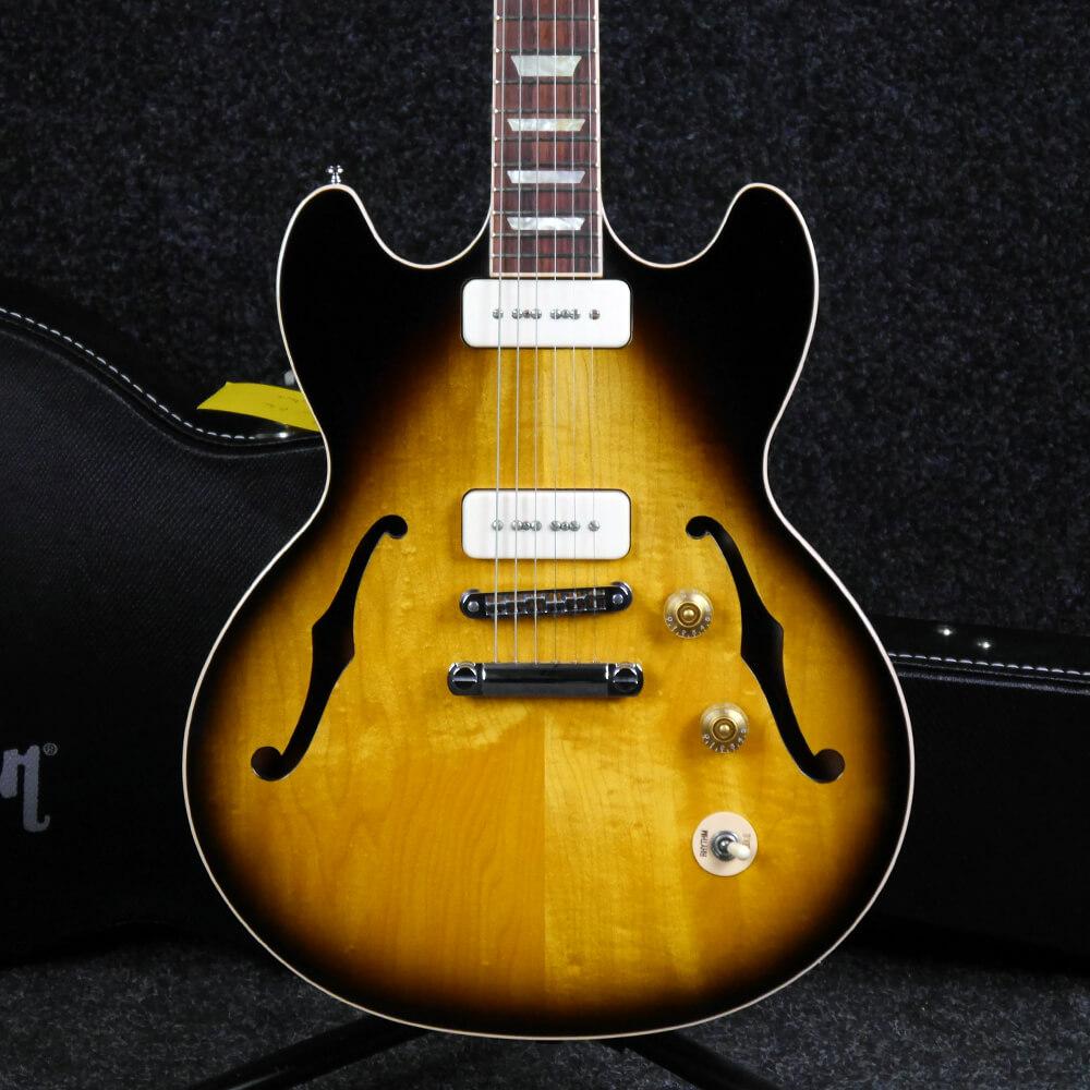 Gibson Midtown Standard P-90 Electric Guitar - Sunburst w/Hard Case - 2nd Hand