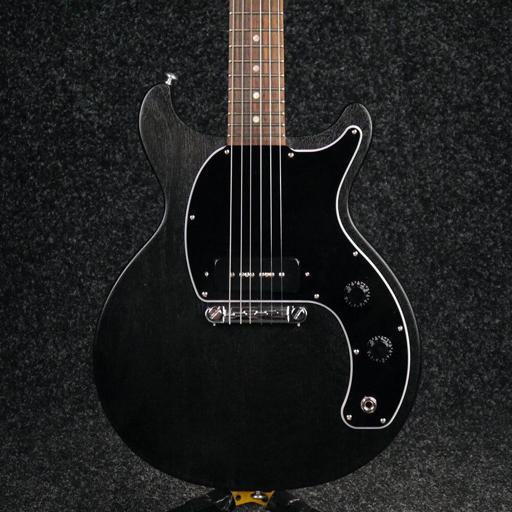 Gibson Les Paul Junior Tribute DC - Worn Ebony - 2nd Hand
